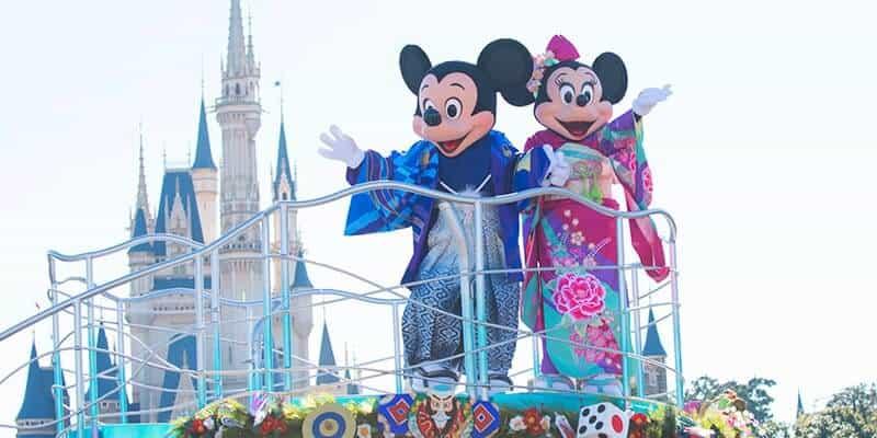 Tokyo Disney Resort New Year's 2019