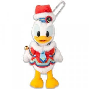 Donald Plush Badge Tokyo Disneyland Christmas 2018