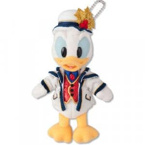 Donald Plush Badge Tokyo DisneySea Christmas 2018