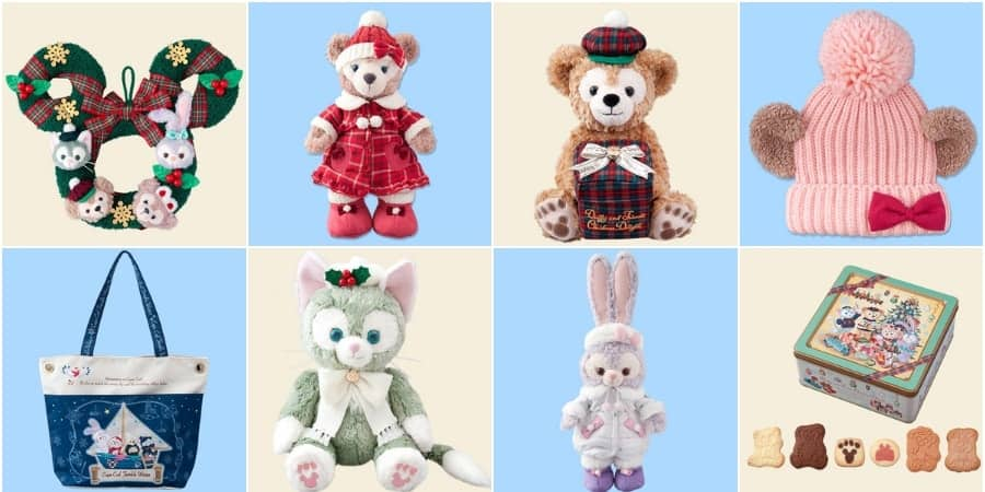 Duffy and Friends Christmas and Winter Merchandise