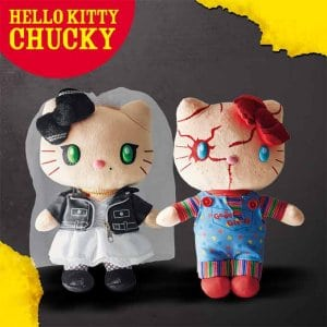 Hello Kitty Chucky Plush Set