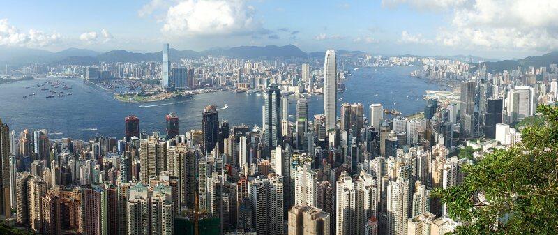 Hong Kong Skyline Nomadic Matt