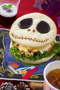 Jack Skellington Sandwich Set at Tokyo Disneyland Christmas