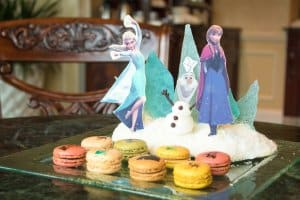 Macarons Frozen Suite Hong Kong Disneyland Hotel