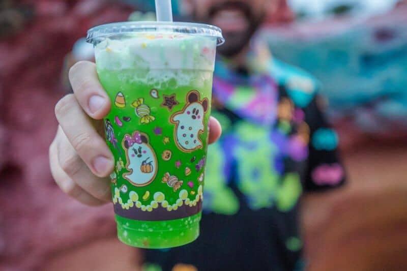 Melon Soda Drink Halloween Food Tokyo DisneySea