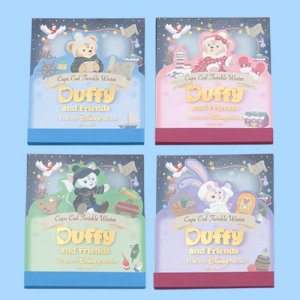 Memo Set Duffy and Friends Twinkle Winter 2018