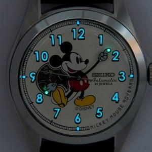 90 Years with Mickey Watch - Lights