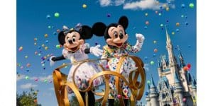 Mickey and Minnie 90 Birthday Outfits