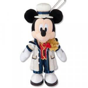 Mickey Plush Badge Tokyo DisneySea Christmas 2018