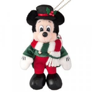 Mickey Plush Tokyo Disney Resort 35th Anniversary Christmas
