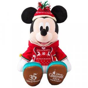 Mickey Plush Tokyo Disneyland Christmas 2018