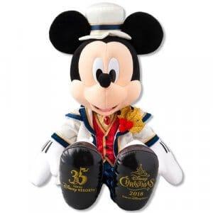 Mickey Plush Tokyo DisneySea Christmas 2018