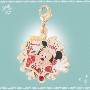 Mickey Snowflake Charm Disneyland