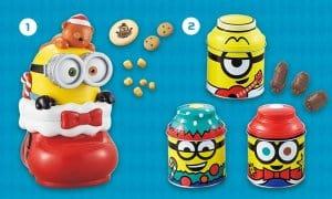 Minion Christmas Snacks at Universal Studio Japan