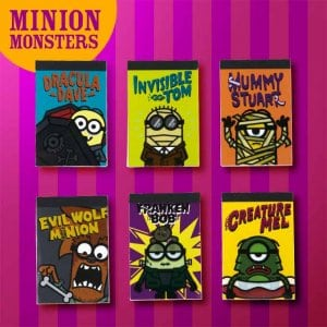 Minion Monster Memo Set