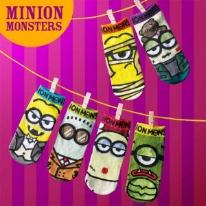 Minion Monster Socks