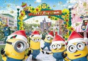 Minion Park Decorations at Universal Studio Japan
