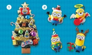 Minions Tree Decorations at Universal Studio Japan