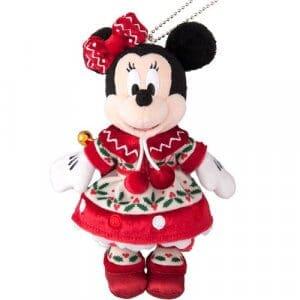 Minnie Plush Badge Tokyo Disneyland Christmas 2018
