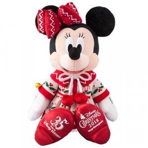 Minnie Plush Tokyo Disneyland Christmas 2018