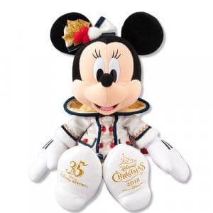 Minnie Plush Tokyo DisneySea Christmas 2018