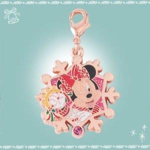 Minnie Snowflake Charm Disneyland