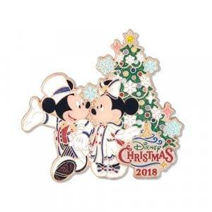 Pin Tokyo DisneySea Christmas 2018