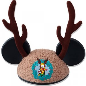 Pluto Ear Hat Tokyo Disneyland Christmas 2018