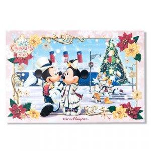 Postcard Tokyo DisneySea Christmas 2018
