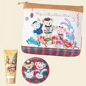 Pouch, Mirror and Hand Cream Set Duffy and Friends Christmas 2018
