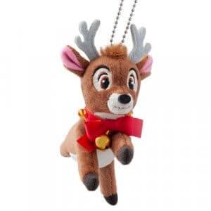 Reindeer Plush Badge Tokyo Disneyland Christmas 2018