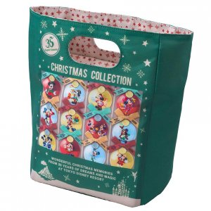 Souvenir Lunch Case at Tokyo Disneyland Christmas