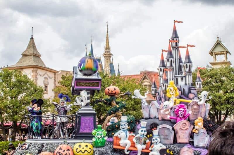 Spooky Boo Halloween Parade Tokyo Disneyland