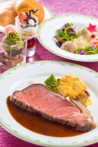 SS Columbia Roast Beef Set At Tokyo DisneySea Christmas 2018