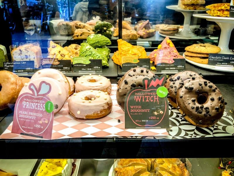 Starbucks Japan Halloween Witch and Princess Donuts