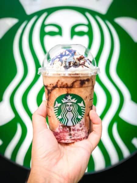 Starbucks Japan Halloween Witch Frappuccino