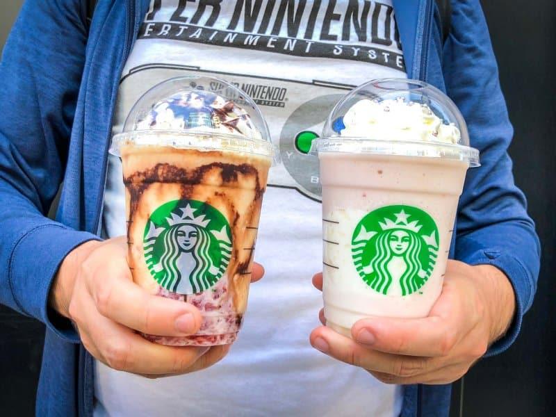 Starbucks Japan Halloween Witch Princess Frappuccino Close Look
