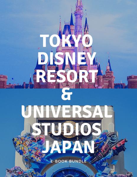 Tokyo Disney Resort and Universal Studios Japan E-Book Bundle