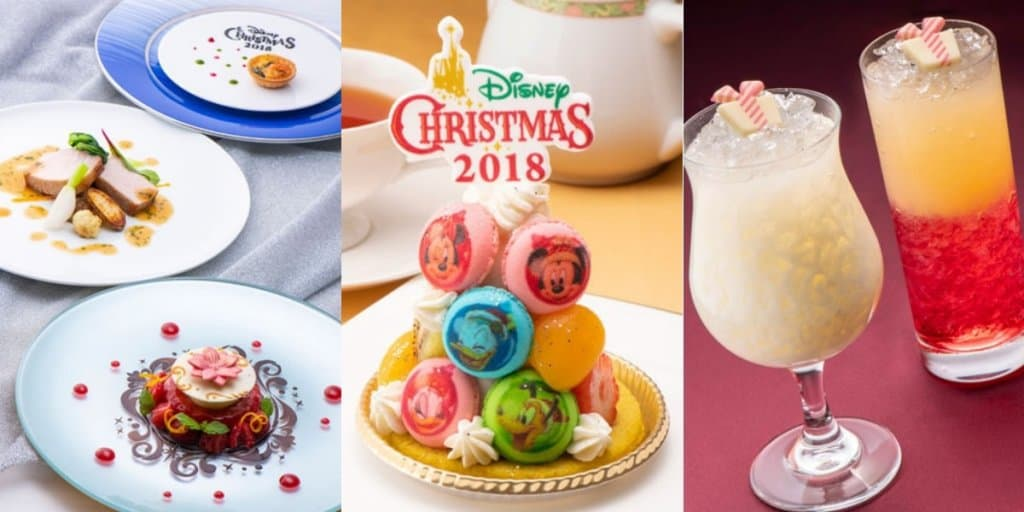 Tokyo Disney Resort Hotels Christmas Food & Drinks Menu 2018