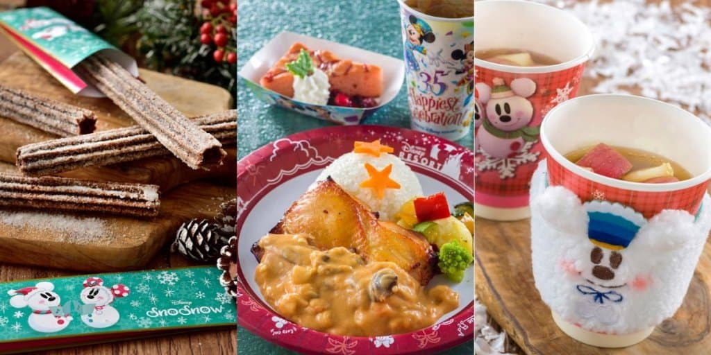 Tokyo Disneyland Christmas Food & Snacks Menu 2018