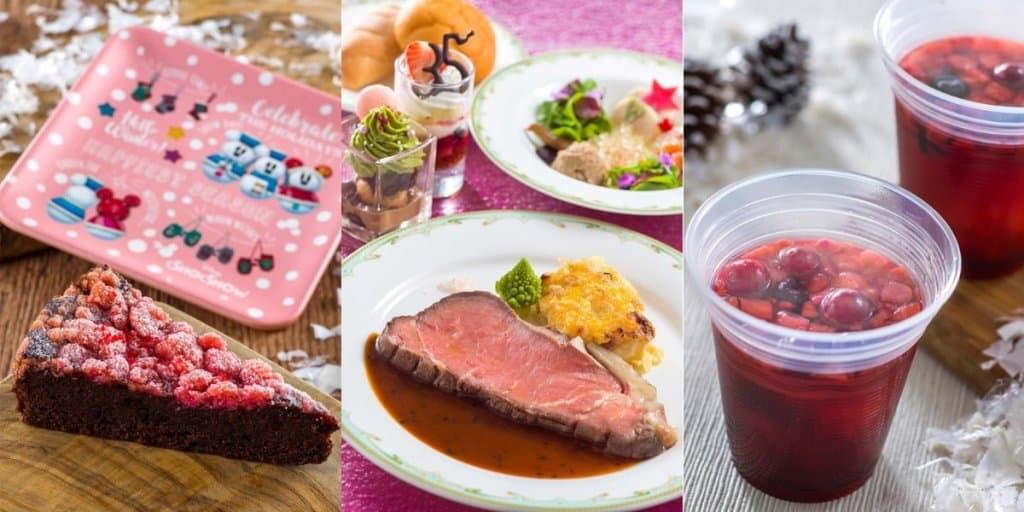 Tokyo DisneySea Christmas Food & Snacks Menu 2018
