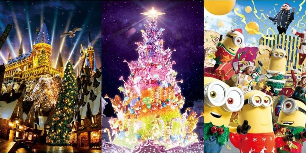 Universal Studios Japan Christmas 2018 – Details