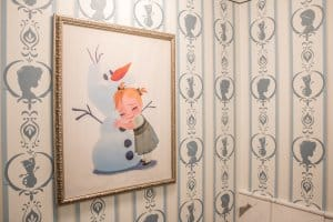 Washroom Decor Frozen Suite Hong Kong Disneyland Hotel