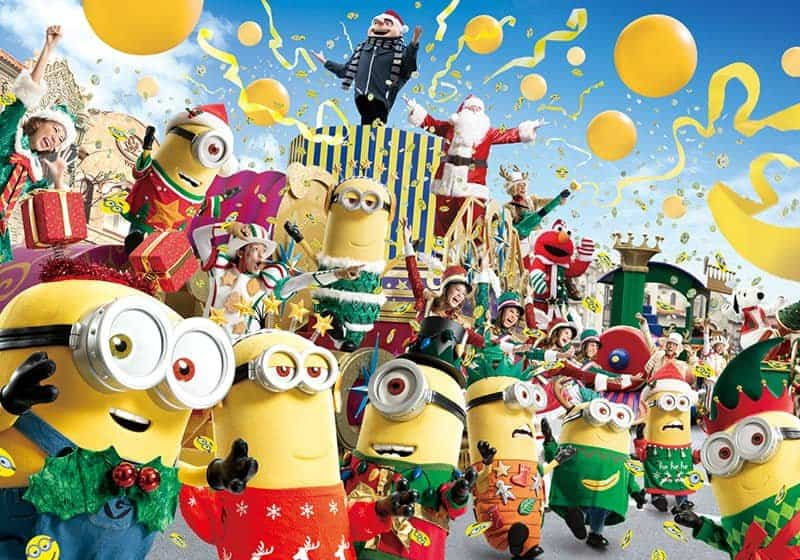 Minion Hacha-Mecha Christmas Party at Universal Studio Japan