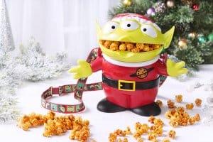 Alien Popcorn Bucket Hong Kong Disneyland Christmas 2018
