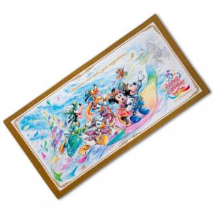 Bath Towel Tokyo Disney Resort 35th Anniversary Grand Finale