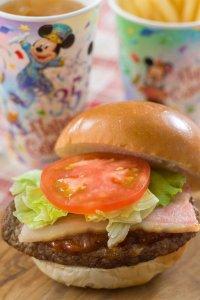 BLT Burger Set Duffy and Friends Heartwarming Days