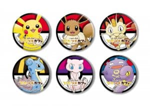 Can Badges Let's Go Pokémon Cafe