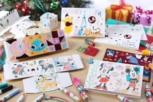 Card Making Kit Hong Kong Disneyland Christmas 2018.