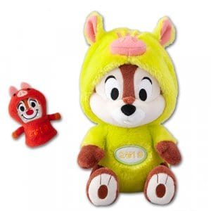 Chip Plush with Dale Puppet Tokyo Disney Resort Merchandise New Year 2019